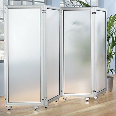 Büro-Paravent - Element mit Acrylglas
