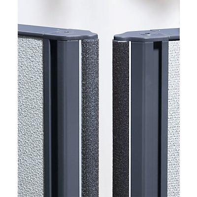 Akustikwand aus Acrylglas - Gesamthöhe 1.820 mm