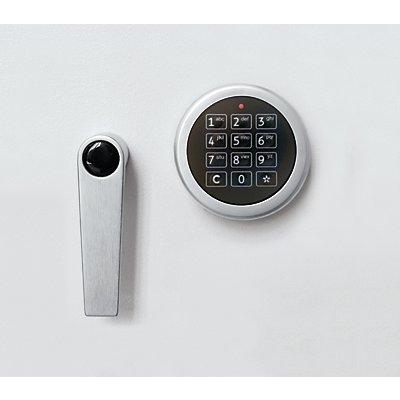 Inter Sicherheits Service Elektronikschloss - 1 Mastercode und bis zu 9 Benutzercodes - Mehrpreis