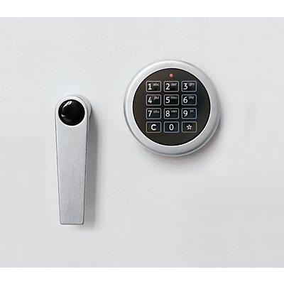 Inter Sicherheits Service Elektronikschloss ohne Notöffnung - für Datensicherungsschrank - 1 Master- und 9 Benutzercodes, Mehrpreis
