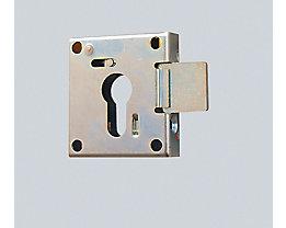 Vorrichtung für Profilhalbzylinder-Schloss - für Schlüsselschrank und Wertfach - Mehrpreis