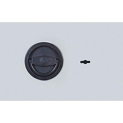 ISS Möbeltresor - allseitig doppelwandig, Tür doppelwandig