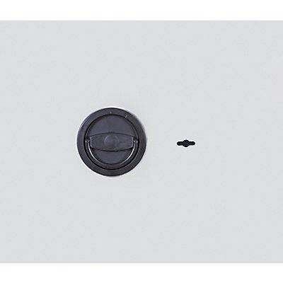 ISS Möbeleinsatztresor - Korpus einwandig, 3 mm stark, Tür doppelwandig