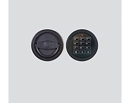 Inter Sicherheits Service Elektronikschloss - für Wertschutzschrank - 1 Master- und max. 9 Benutzercodes, Mehrpreis