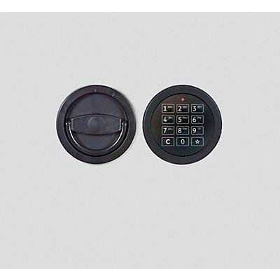 Inter Sicherheits Service Elektronikschloss - 1 Mastercode, bis zu 9 Benutzercodes - Mehrpreis