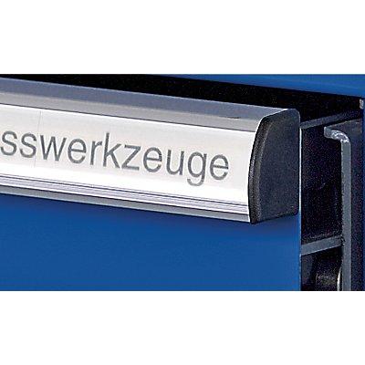 Lista Schubladenschrank, Stahlblech - HxB 1000 x 717 mm, 6 Schubladen