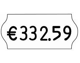 Etiketten für Preisauszeichner - BxH 26 x 12 mm, VE 18 Rollen à 1500 Stk