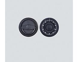 Zahlenkombinationsschloss, mechanisch - 12 mm vorstehend - Mehrpreis