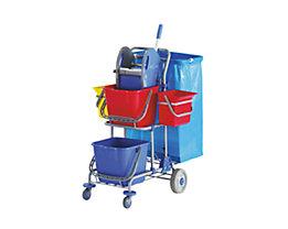 Chariot d'entretien - L x l x h 850 x 500 x 1050 mm