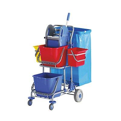 Reinigungswagen - LxBxH 850 x 500 x 1050 mm