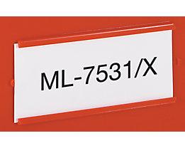 Etiketten für Stapeltransportkasten - LxB 465 x 315 mm
