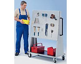 EUROKRAFT Werkstattgerät, modular - für 3 Platten je Seite
