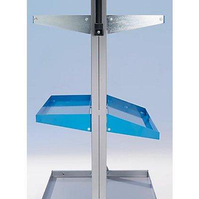 Ladefl��che für Werkstattgerät - waagerecht - LxBxH 1015 x 250 x 35 mm