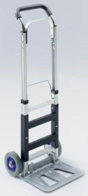 Alu-Sackkarre - klappbar, Tragfähigkeit 120 kg - Tragfähigkeit 120 kg