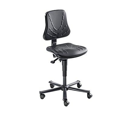 bimos Arbeitsdrehstuhl – SOLITEC - Sitzfläche Kunstlederpolster