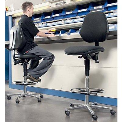 bimos hochstuhl fahrbar mit gasfeder h henverstellung von 660 920 mm. Black Bedroom Furniture Sets. Home Design Ideas
