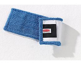 Mikrofaser-Wischmopp - VE 10 Stk, mit Taschen und Laschen