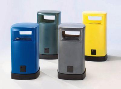 Abfallsammler für außen - aus Kunststoff Inhalt 80 Liter