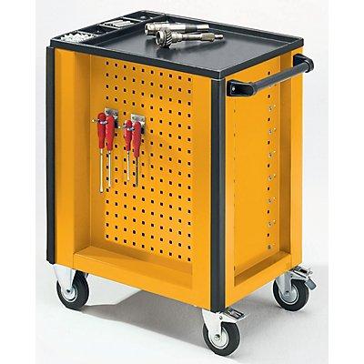 QUIPO Werkzeugwagen - 6 Schubladen mit absoluter Einzelauszugsperre