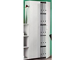 MULTI Aktenschrank - HxBxT 1880 x 800 x 330 mm - lichtgrau