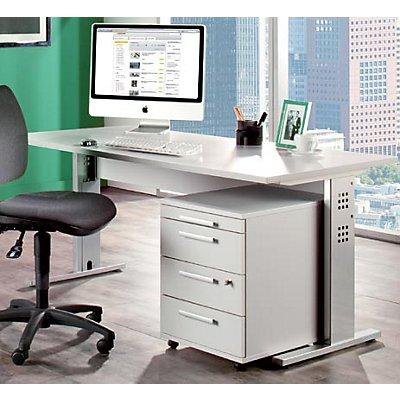 Büro-Set Basic - lichtgrau - lichtgrau