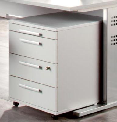 MULTI Rollcontainer - HxBxT 590 x 428 x 560 mm, 3 Schubladen