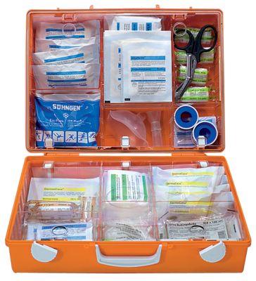 Erste-Hilfe-Koffer nach DIN 13169 - signalorange, HxBxT 300 x 400 x 150 mm