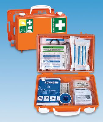 Erste-Hilfe-Koffer nach DIN 13157 - HxBxT 170 x 260 x 110 mm