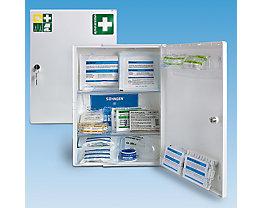 Verbandschrank nach DIN 13157 - eintürig, weiß, HxBxT 429 x 315 x 150 mm