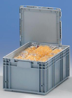 Stapelbehälter aus Polypropylen - Inhalt 52 l, Außenmaße LxBxH 600 x 400 x 280 mm