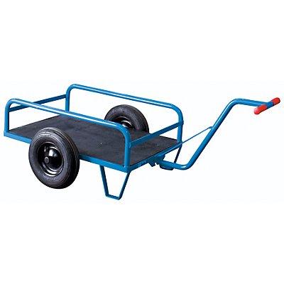EUROKRAFT Zweirad-Handwagen - mit Geländer