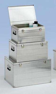 ZARGES Alu-Transportbox - Inhalt 42 l - LxBxH 490 x 380 x 255 mm, Gewicht 3 kg