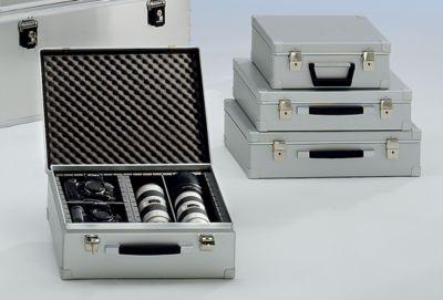 ZARGES Alukoffer - Inhalt 15 l - Außen-LxBxH 370 x 330 x 145 mm, Gewicht 1,8 kg