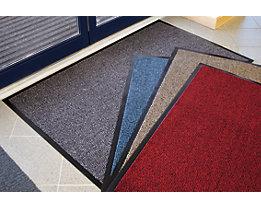 Tapis de propreté pour l'intérieur à fibres en polypropylène - L x l 900 x 600 mm, lot de 2