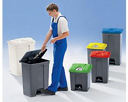 Tretabfalleimer aus Kunststoff - Volumen 90 Liter