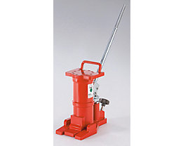 Cric hydraulique à levier amovible - force 6 t, poids 15 kg