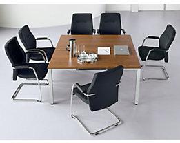 Table de conférence carrée - h x L x l 720 x 1400 x 1400 mm