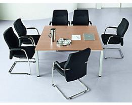 Konferenztisch, quadratisch - HxLxB 720 x 1400 x 1400 mm