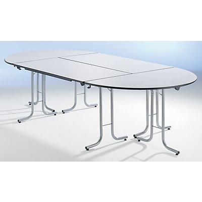 retour pour table pliante plateau en forme de demi cercle. Black Bedroom Furniture Sets. Home Design Ideas