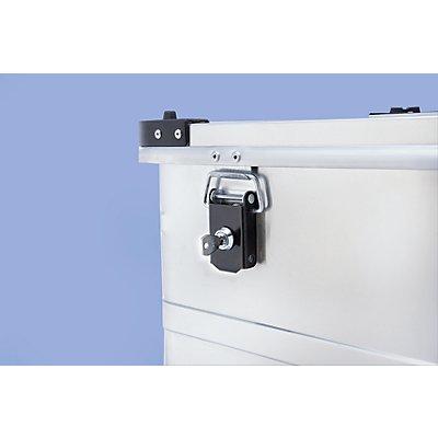 Zylinderschloss-Set für Aluminiumbehälter - 2 Schlösser inkl. 2 Schlüssel - gleichschließend