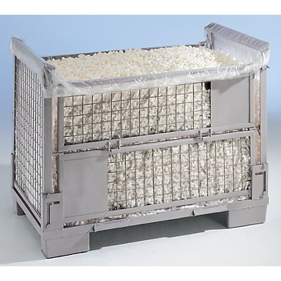 Foliensack (Inliner) - für hohe EUR-Gitterbox - aus LDPE-Folie, VE 30 Stk