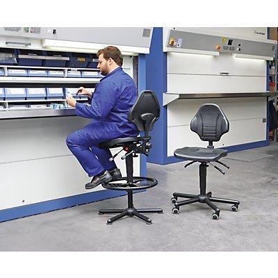 Schwerlast-Arbeitsstuhl, höhenverstellbar - belastbar bis 160 kg