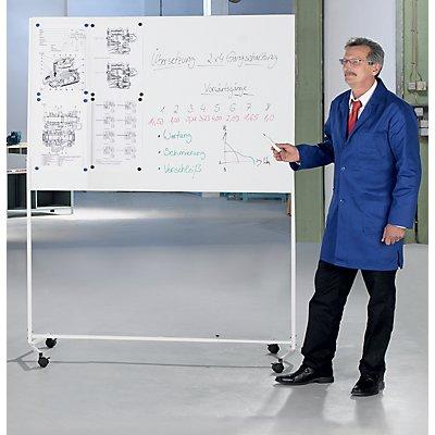QUIPO mobiles Whiteboard - Gesamthöhe 1960 mm