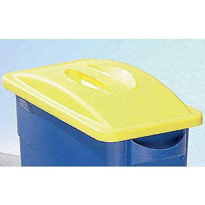 Kunststoff-Deckel - geschlossen mit Muldengriff