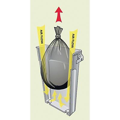 Rubbermaid Collecteur de déchets en plastique - capacité 87 l, canaux d'aération