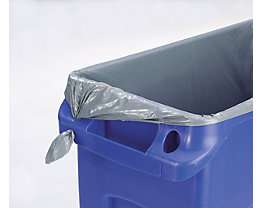 Abfallsäcke - Polyethylen - grau, 800 x 1000 mm, VE 250 Stk