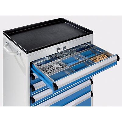 Schubladeneinteilungs-Set - Schrankbreite x -tiefe 700 x 450 mm
