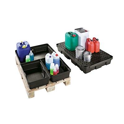 CEMO Kleingebinde-Palettenwanne, aus Polyethylen (LDPE)