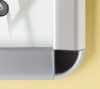 Display-Klapprahmen - Aluminium, VE 2 Stk