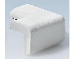 Warn- und Schutzprofil, Schutzecke - in 2D, Querschnitt L-Form klein